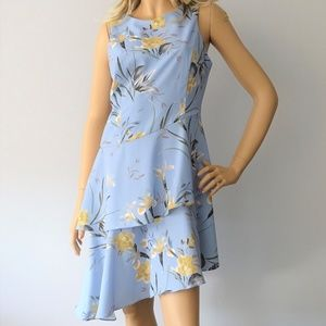 Bar III NWT Mystic Flowers Ruffle Dress